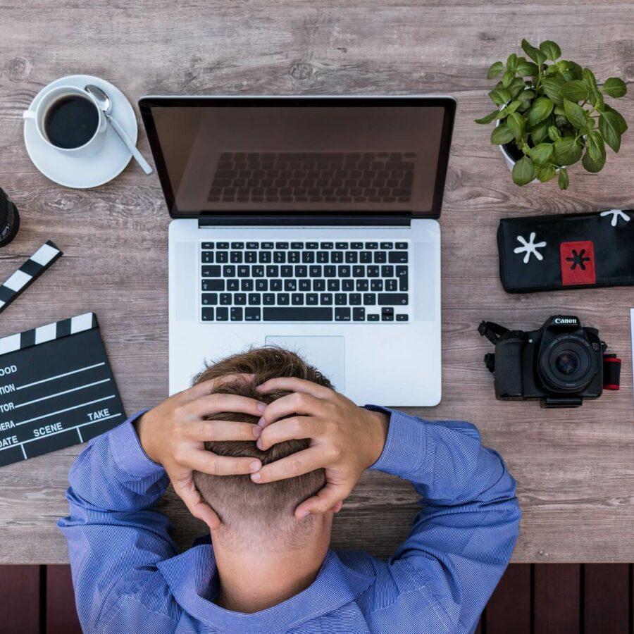 Как преодолеть писательский блог